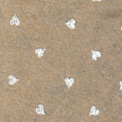 Sabbia cuori bianchi