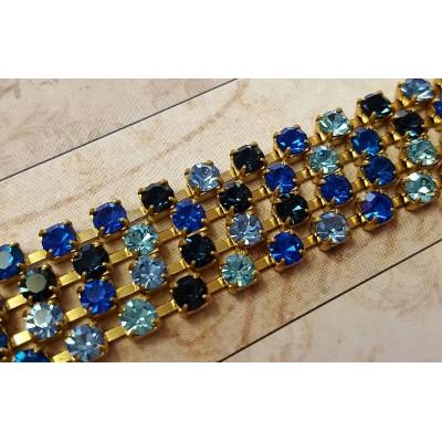 Collana crystal fall variante Blu / Azzurro