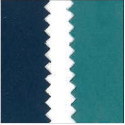 Alcantara blu e turchese