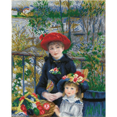 Two sisters on the terrace (Renoir)