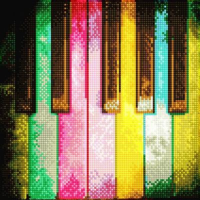 Piano Rainbow